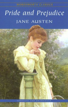 book, Pride and Prejudice, Jane Austen, Wordsworth