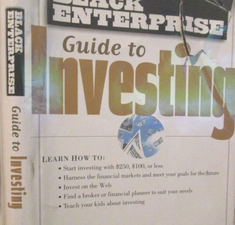 Black Enterprise Guide to Investing Cover, James A. Anderson