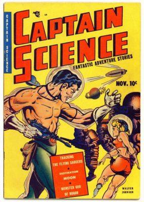 Golden Age Comics, aliens, Youth Magazine, Fantastic Adventures