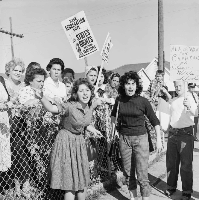protestors, segregation