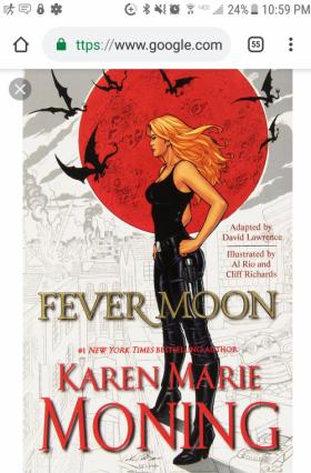 Karen Marie Moning, graphic novel