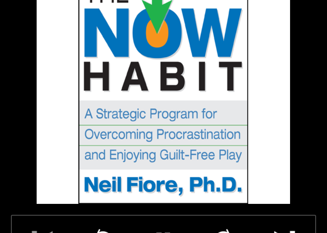 A Strategic Program for Overcoming Procrastination and Enjoying Guilt-Free Play